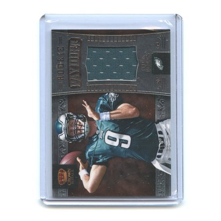 2012 Crown Royale Rookie Paydirt Materials #24 Nick Foles Eagles Rookie Card