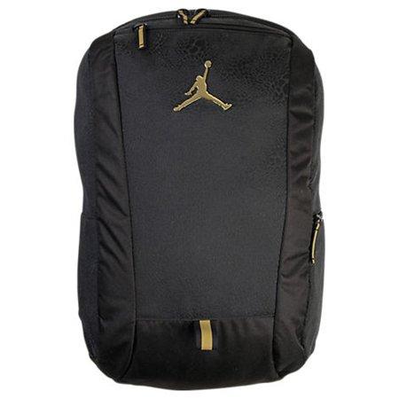 6d4e01c1a6 Jordan Youth Boys Cat Backpack Black Gold - Walmart.com