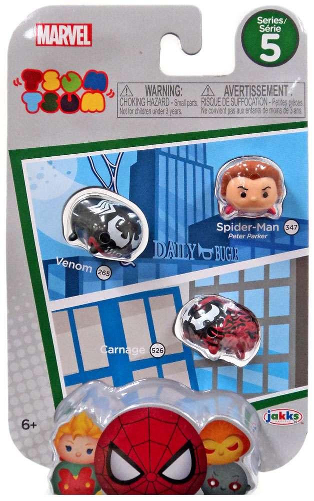 Lego type mini figurine serie marvel spiderman venom carnage