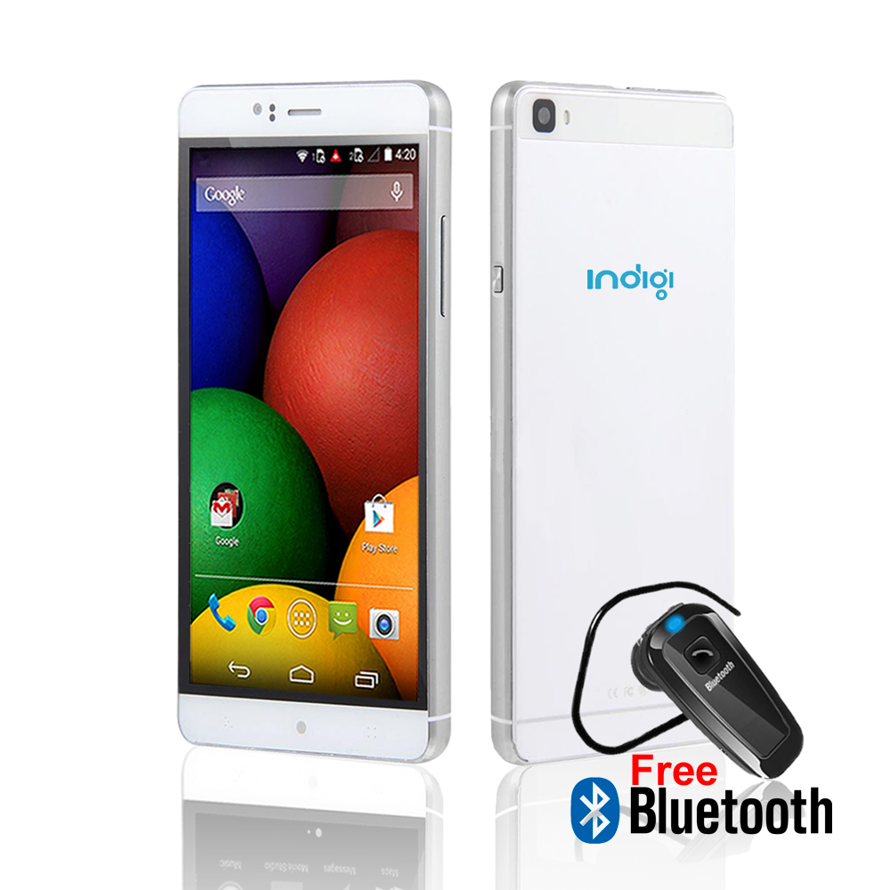 "Indigi® 3G Unlocked Smartphone Android 5.1 Lollipop SmartPhone 6.0"" QHD + WiFi + Google Play Store + Bluetooth Included"
