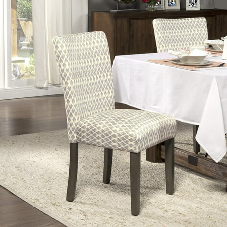 (HomePop Parsons Dining Chairs (set of 2), Multiple Colors)