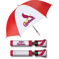 St. Louis Cardinals Golf Umbrella With ID Handle - No Size