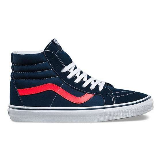 76d2e4b0a5 Vans - Vans Men s Sk8-Hi Reissue Parisian Night   True White High-Top  Canvas Fashion Sneaker - 10M - Walmart.com