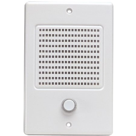 M Systems Door Speaker With Bell Button