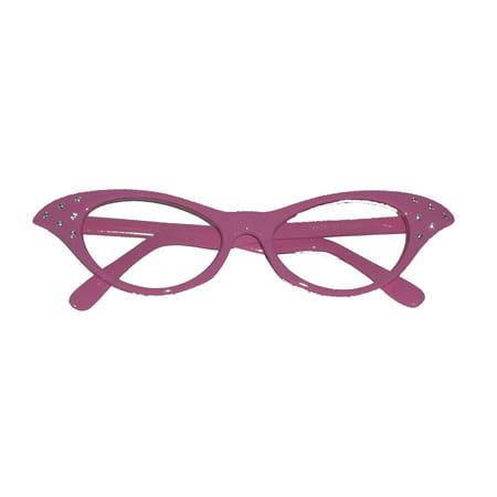 Rhinestone 1950s Cat Eye Glasses SG6CL/2 - - 1950's Glasses