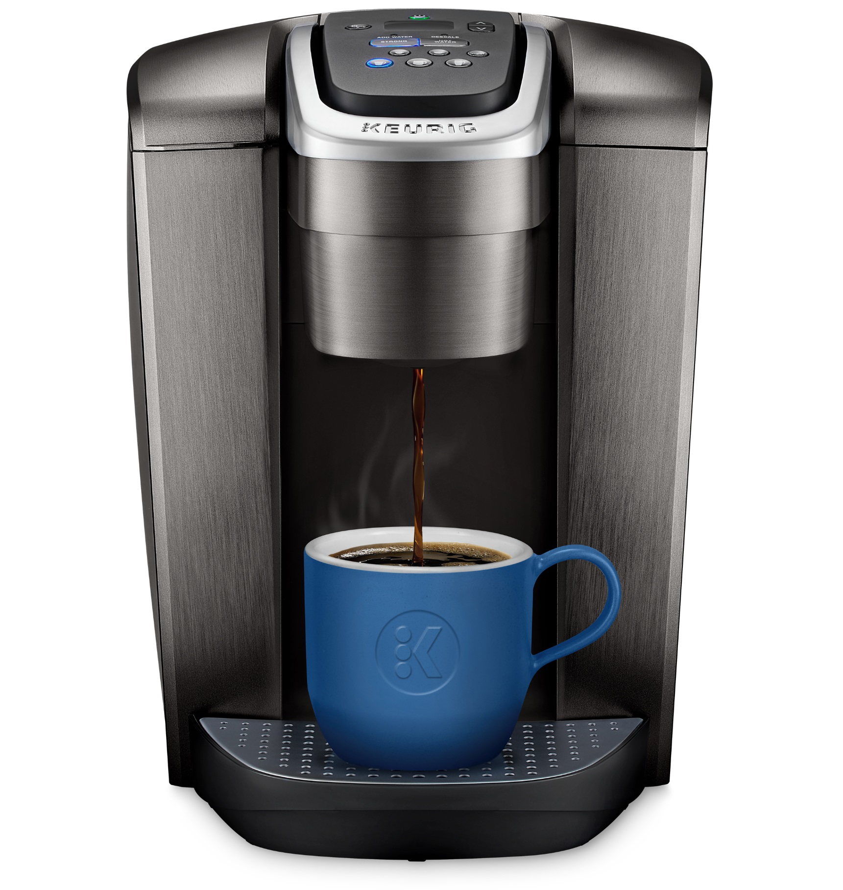 Keurig K-Elite, Single Serve K-Cup Pod Coffee Maker, Brushed Slate