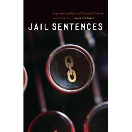 Jail Sentences  Representing Prison In Twentieth Century French Fiction