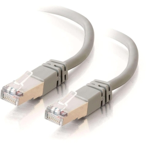 100FT CAT5E GRAY MOLDED STP PATCH CABLE