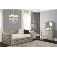 Hillsdale Furniture Memphis Upholstered Twin Daybed with Trundle