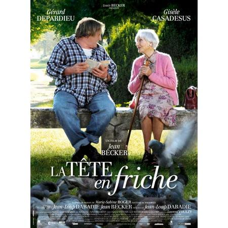 La tete en friche (2010) 11x17 Movie Poster - La Date D'halloween En France