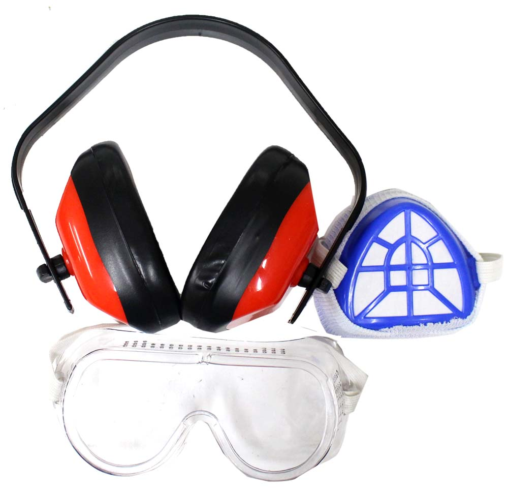 Safety Masks, Respirator Filters For Low Toxicity Environments
