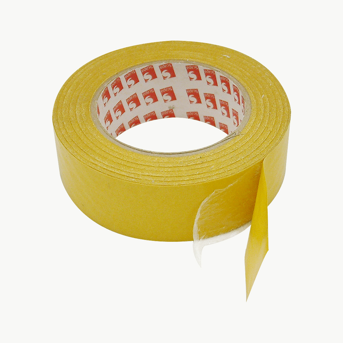 Scapa 4450 Adhesive Transfer Tape: 3 in. x 60 yds. (Clear Adhesive on Gold Liner)