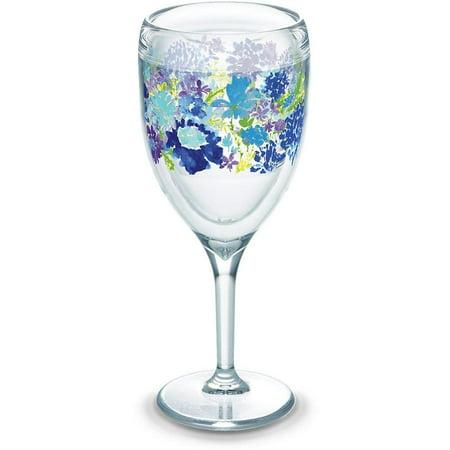 Tervis Wine Glass - 9oz - Fiesta Purple Floral - Purple Wine Company