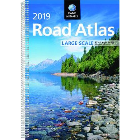 (Rand McNally 2019 Large Scale Road Atlas)