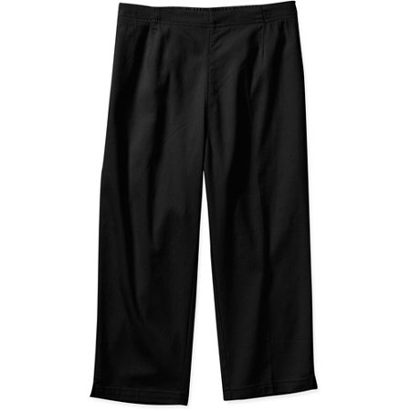 White Stag - Women's Pull On Flat Front Capri Leggings - Walmart.com