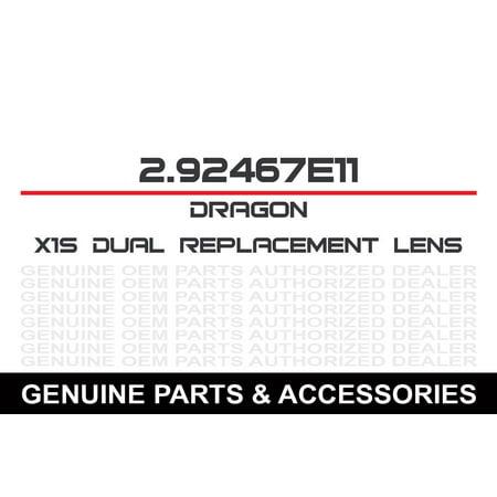 X1S Dual Lens Clear S/M ()