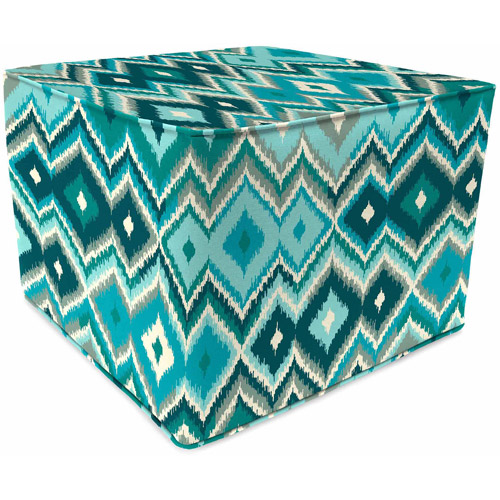 "Jordan 20"" Square Pouf, Multiple Patterns"