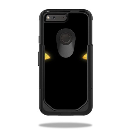 Skin Decal Wrap For Otterbox Commuter Google Pixel 5 Case Cat Eyes