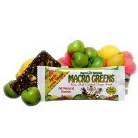 Macrolife Naturals AY45991 Macrolife Naturals Apple Lemon Ginger Macro Green Bar -12 Pack