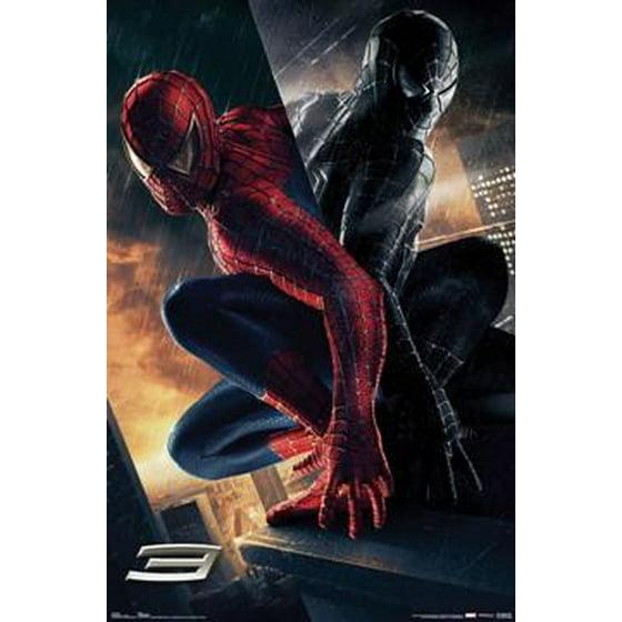 Spider Man 3 The Villain Movie Poster