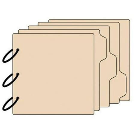 Tabbed Chipboard Album - 3-Tab Chipboard Album 8 x 8 Inch