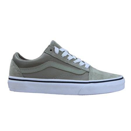 Vans Authentic Unisex Old Skool Fashion Seaker - Sparkly Silver Vans