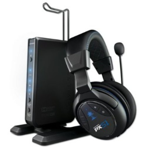 Turtle Beach - Ear Force PX51 Wireless Gaming Headset - Dolby Digital - PS3, Xbox 360
