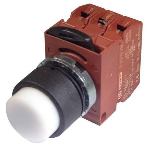 GE P9XPLBSDN12NADI Illum Push Button Operator, 22mm, White