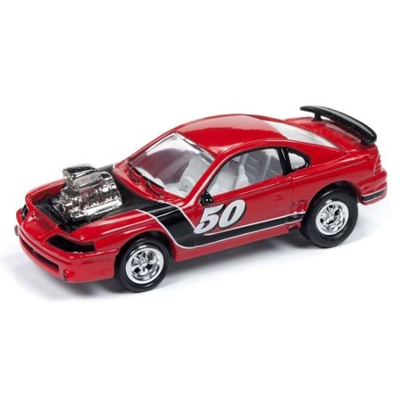 Johnny Lightning 1:64 Street Freaks Ver B 1994 Ford Mustang Custom Euro