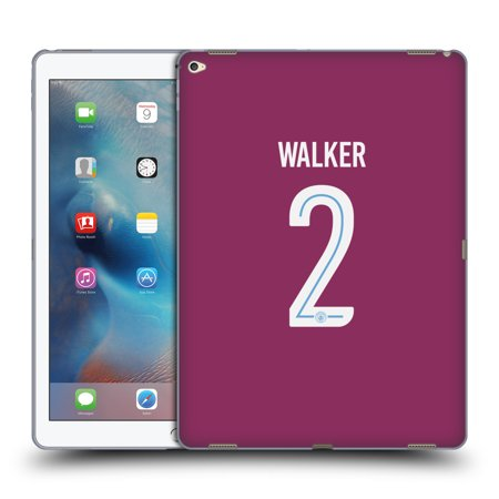 OFFICIAL MANCHESTER CITY MAN CITY FC 2017/18 PLAYERS AWAY KIT 2 SOFT GEL CASE FOR APPLE SAMSUNG