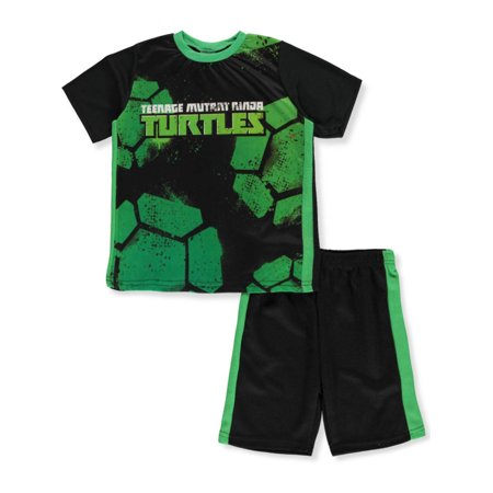 TMNT Boys' 2-Piece Shorts Set Outfit](Ninja Outfit For Kids)