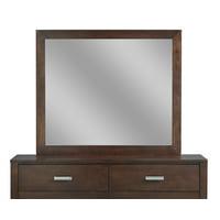 Modus Furniture Riva Mirror, Chocolate Brown