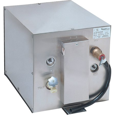 Seaward 120V AC 6 gal Water Heater With Front Heat (Water Heat Exchanger)