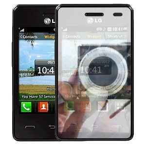 2-pack Mirror Screen Protector for LG 840G