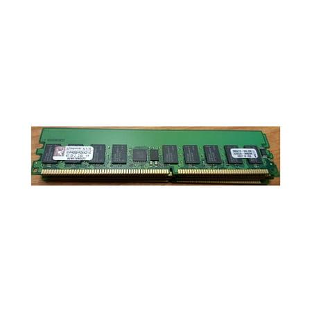 Refurbished-KingstonKVR400S4R3AK2/1GKingston KVR400S4R3AK2/1G 512MB 184-Pin DDR SDRAM ECC Registered DDR 400 (PC 3200) Dual Channel (Kit of 2)