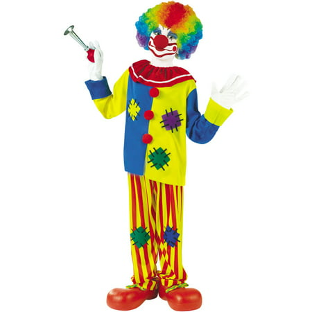 Big Top Clown Child Costume - Crazy Clown Costume