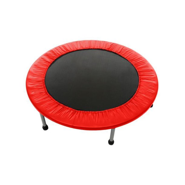 Max Load 220lbs Rebounder Mini Trampoline with Safety Pad for Indoor Garden Workout Cardio Training (2 Sizes: 38 inch / 40 inch, Two Modes: Folding / Not Folding)