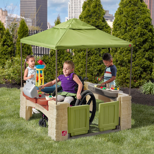 Superior Step2 All Around Playtime Patio With Canopy