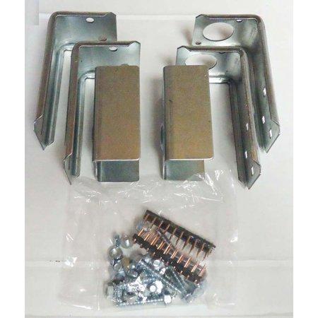 Garage Door Opener Brackets - LiftMaster Garage Door Openers 41A6569 Safety Sensor Brackets