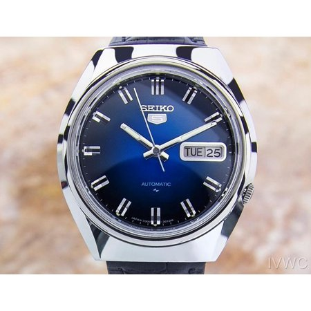 (Vintage Rare Mens Seiko 5 Automatic 7009-8310 S Steel Japanese Watch 1970s Jr23)