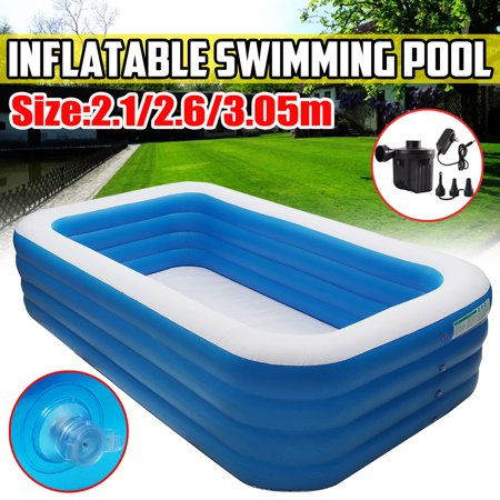 4 Layer Thicken Kids Inflatable Pool 106 118inch Children S Home Use Paddling Pool Swimming Pool For Toddler Walmart Canada