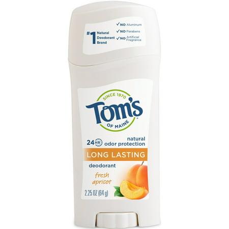 Tom's of Maine Natural Long-Lasting Deodorant Stick Apricot -- 2.25 oz ()