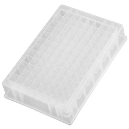 Unique Bargains Lab Testing Clear PP 1ml 96 Hole Well PCR Plate Holder