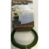 Floral Grass Garland Green 1Centimeter X 9Feet