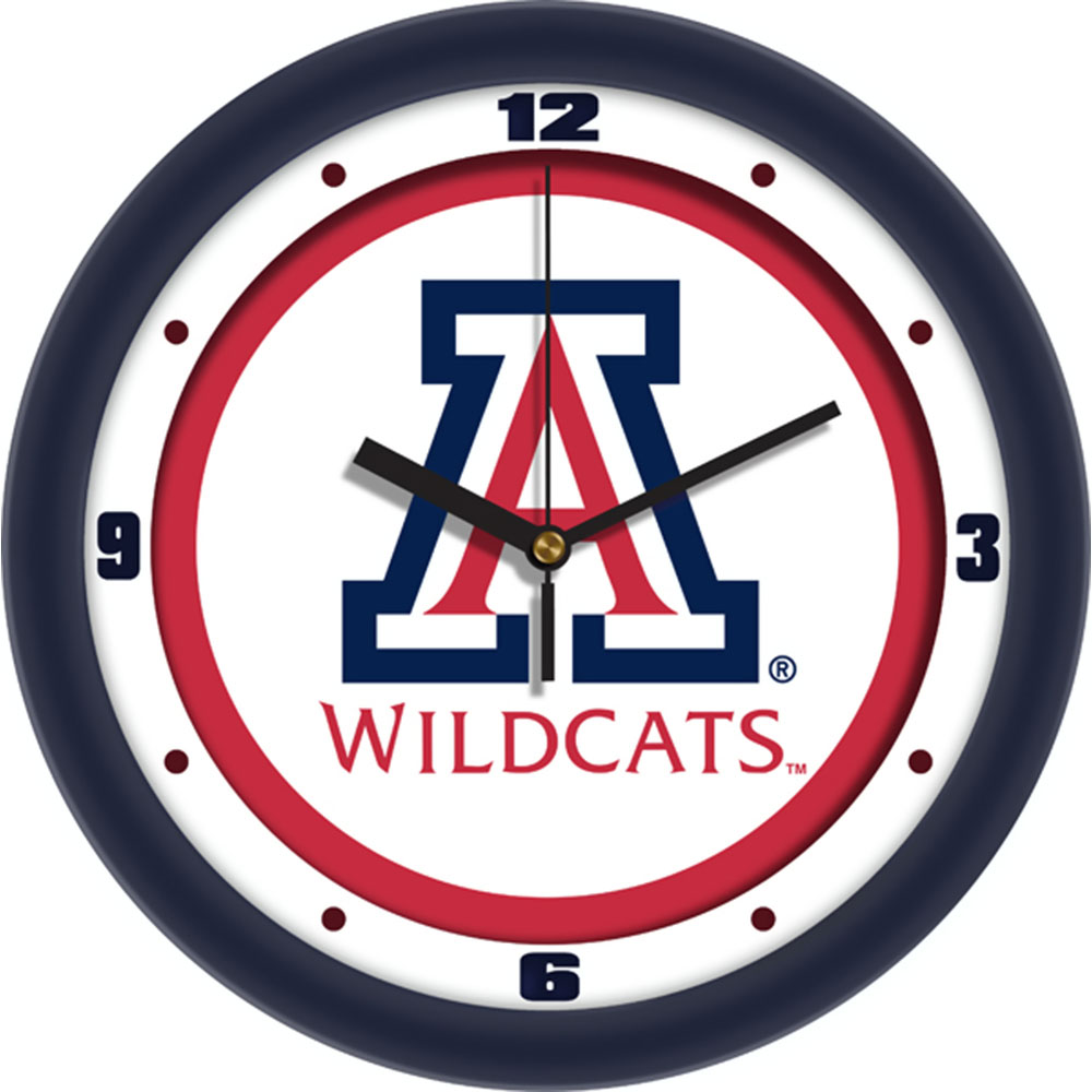 Arizona Wildcats NCAA Traditional Wall Clock