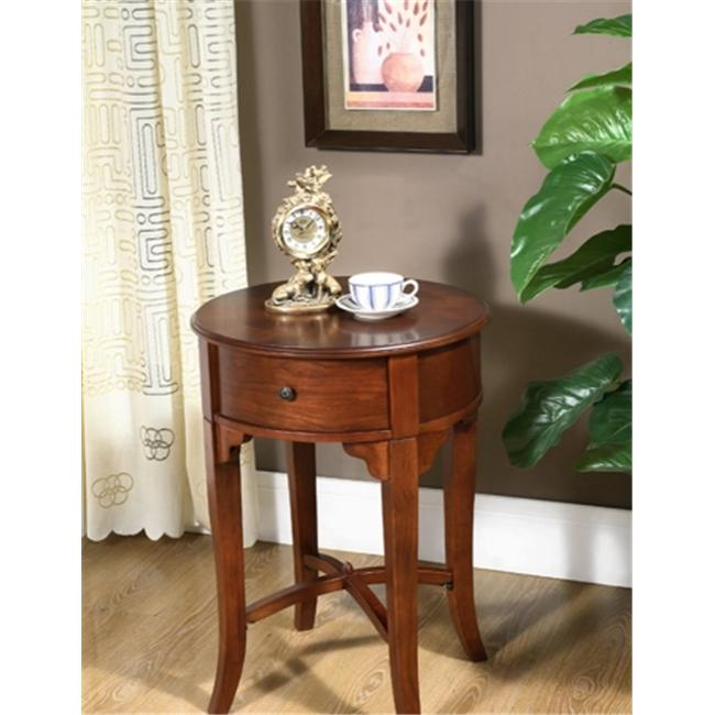 All Things Cedar HR30 Round Drawer Side Table