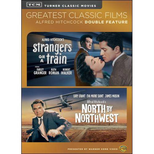 TCM-NORTH BY NORTHWEST/STRANGERS ON A TRAIN (DVD/DBFE)