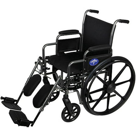 Medline K1 Basic Extra Wide Wheelchairs With Elevating Legrests