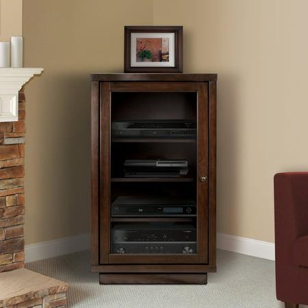 BellO Media Storage Cabinet - Dark Espresso