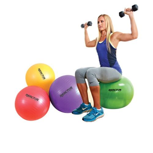 Core Exercise Ball, Green - 55 cm